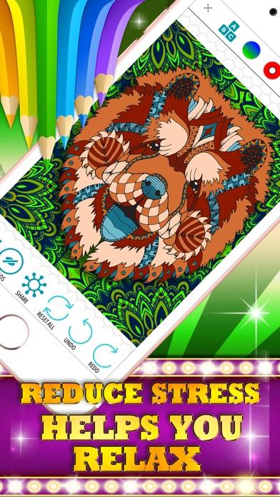 Colorizo erwachsene Färbung Buch Mandala FarbeScreenshot von 5