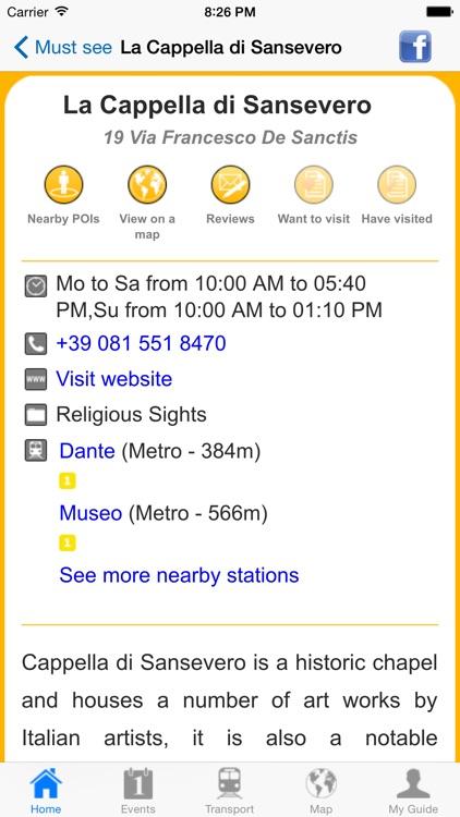 Naples Travel Guide Offline screenshot-4