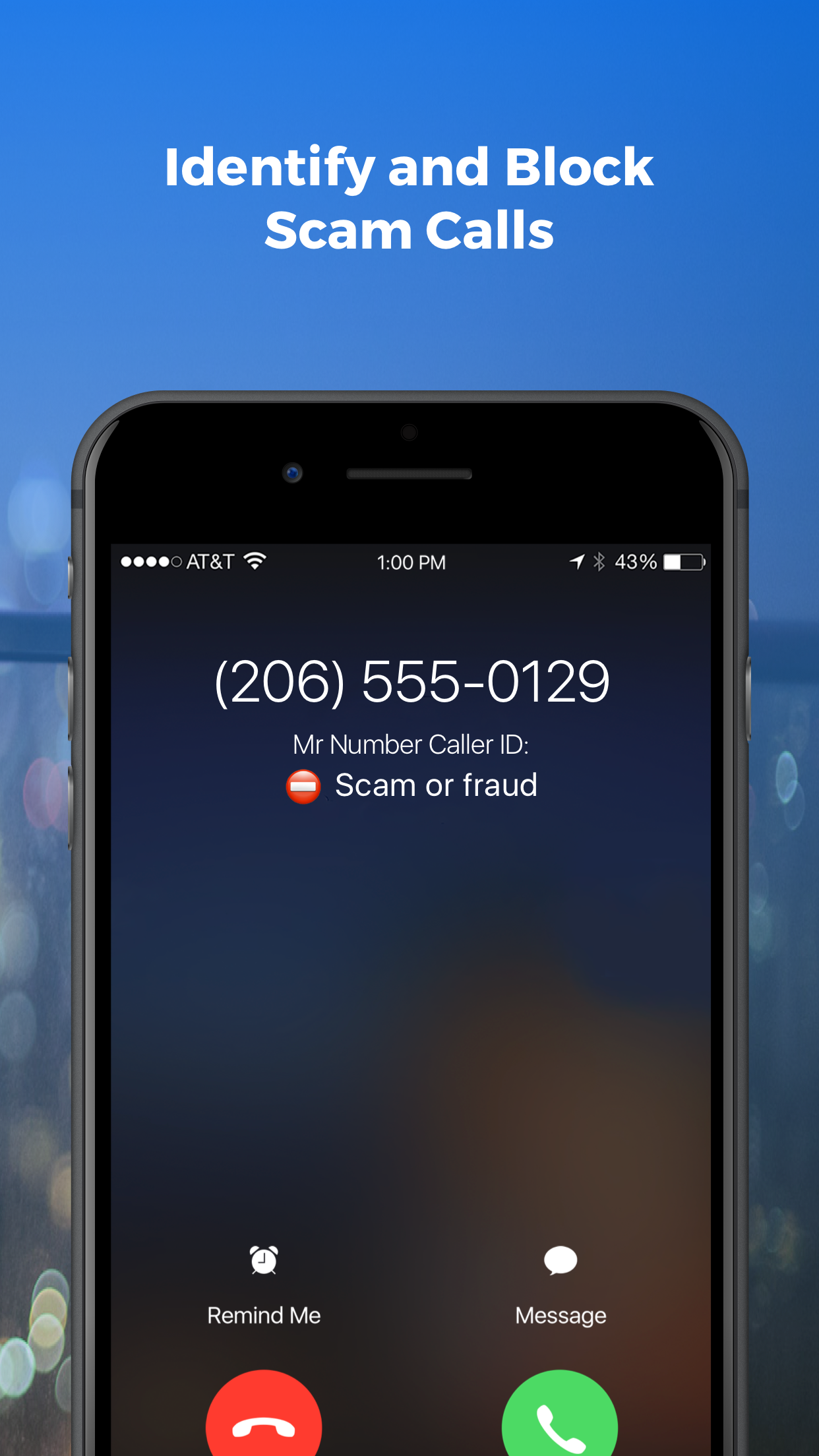 Mr. Number Call Block & Lookup Screenshot