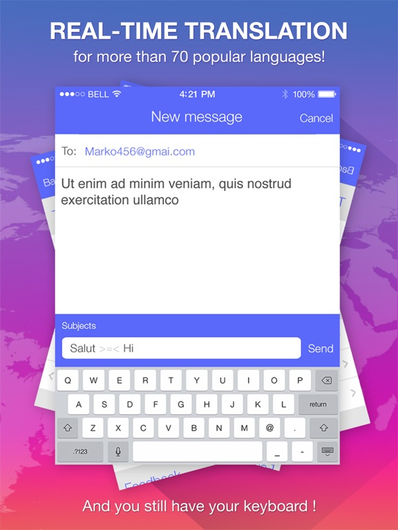 Speech Translate : Translator IPA Cracked for iOS Free Download