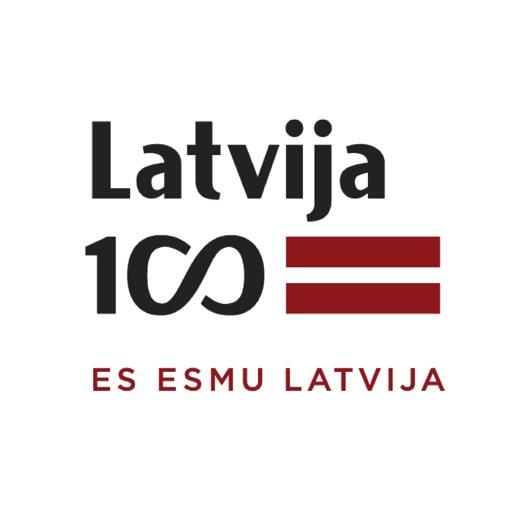 LV100 es esmu Latvija