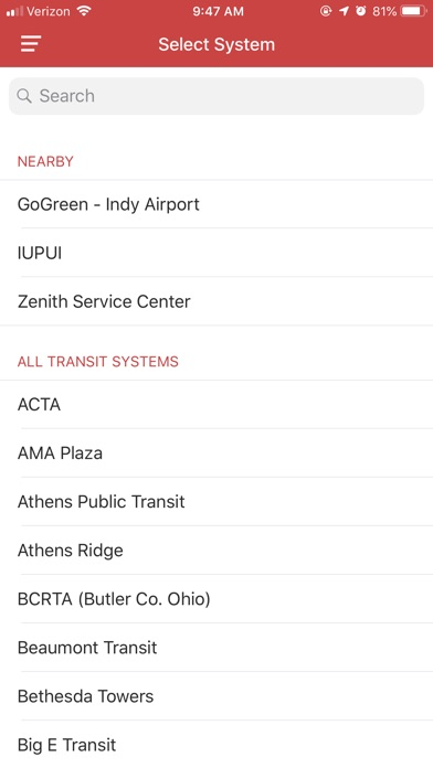 Screenshot for DoubleMap Bus Tracker in Korea App Store