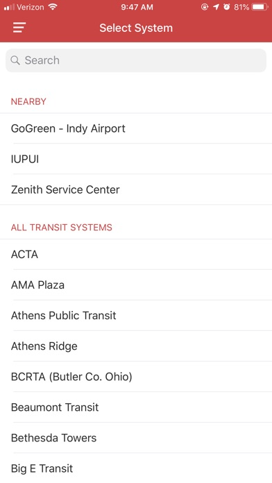 Screenshot for DoubleMap Bus Tracker in Jordan App Store
