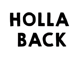 Holla Back Stickers