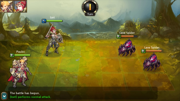 Heroes of Atlan screenshot-4