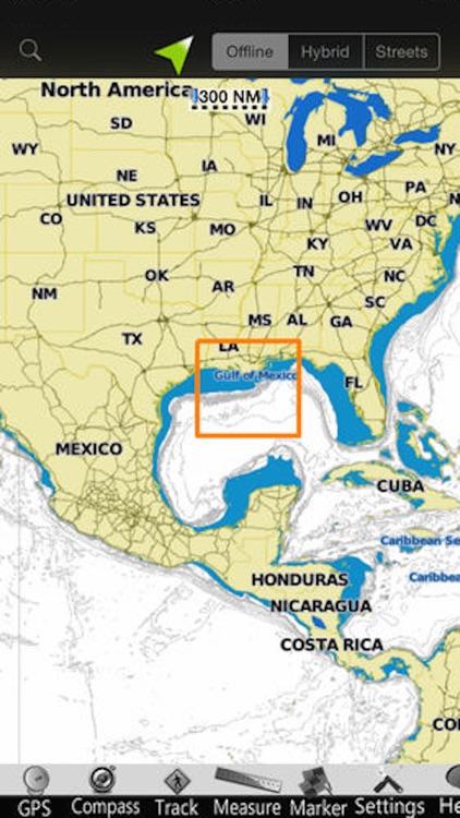 Louisiana GPS Nautical Charts screenshot-4