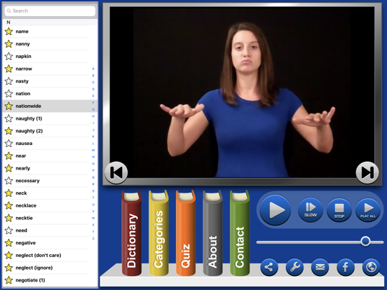 ASL Dictionary Sign Language-ipad-3