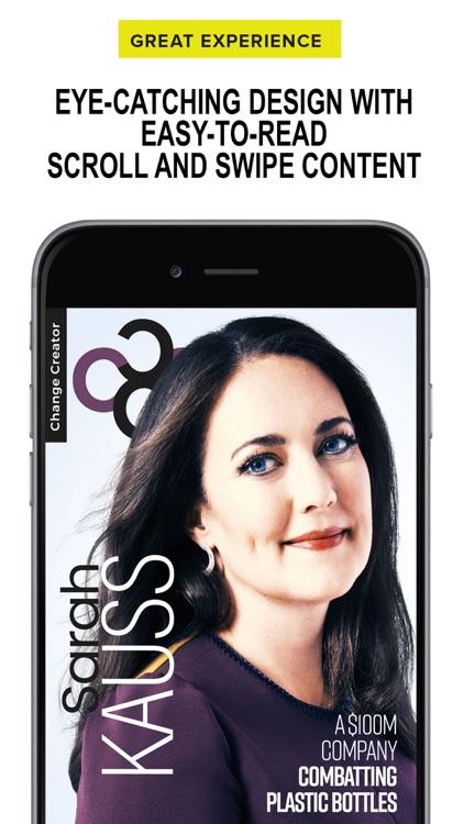 Change Creator Magazine screenshot-4
