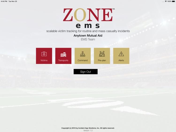 ZoneEMS