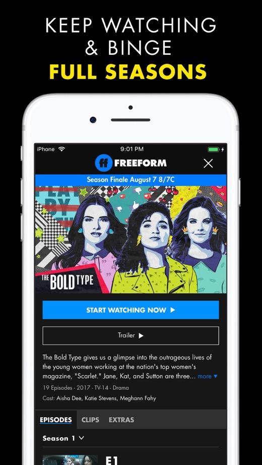 Freeform TV】版本记录- iOS App版本更新记录|版本号|更新时间