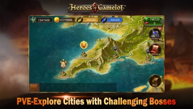 Heroes of Camelot screenshot for iPhone