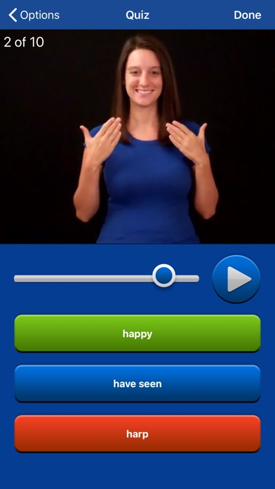 Screenshot for ASL Dictionary Sign Language in United States App Store