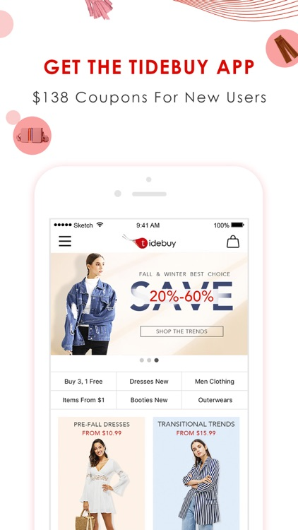 Tidebuy - Fashion Shopping