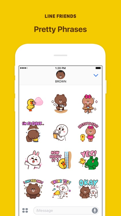 LINE FRIENDS Pretty Phrases