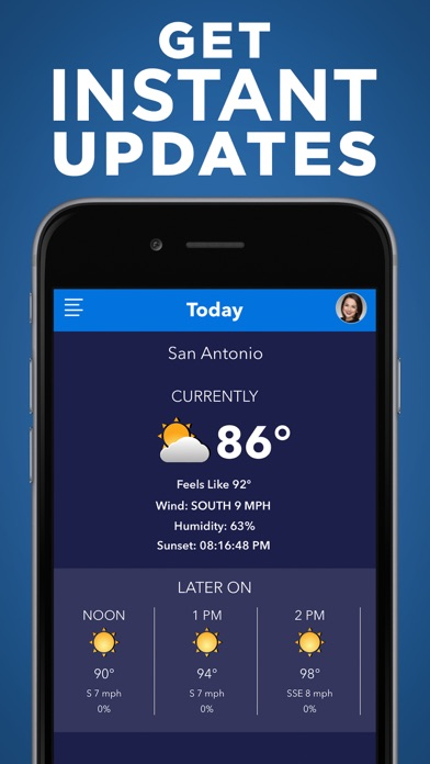 KSAT 12 Weather Authority for Windows