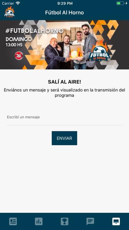 Fútbol Al Horno screenshot-4