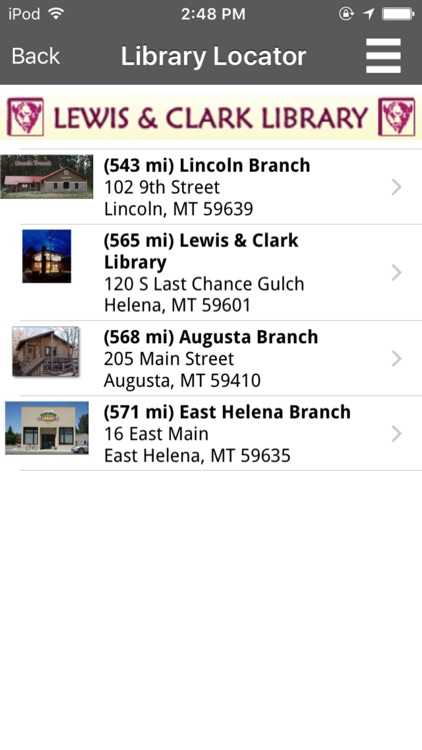 Lewis and Clark Library Catalog screenshot-3