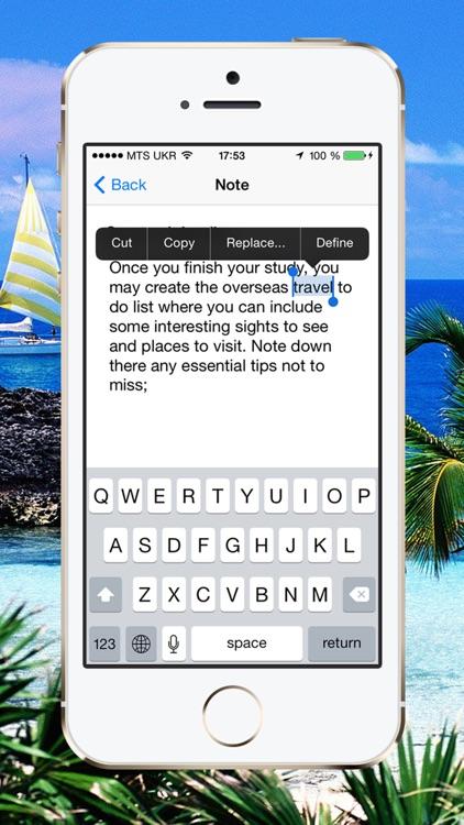 Overseas Travel Checklist screenshot-3