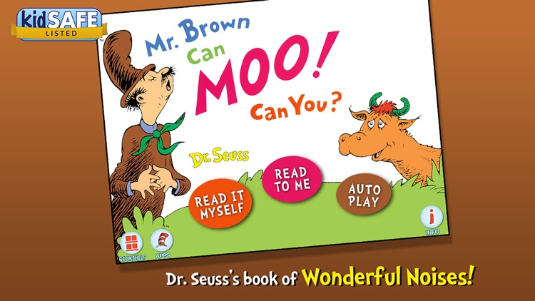 Mr. Brown Can Moo! Can You? - Dr. Seuss