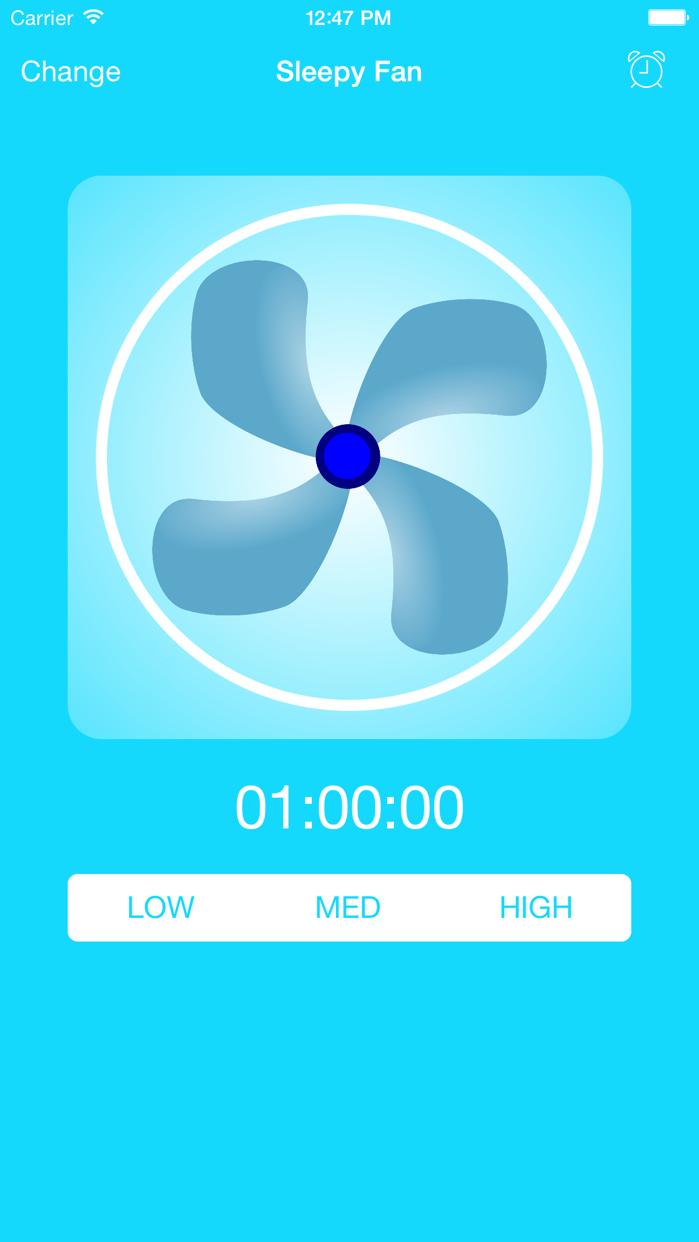 BedTime Sleep Fan Sounds Screenshot