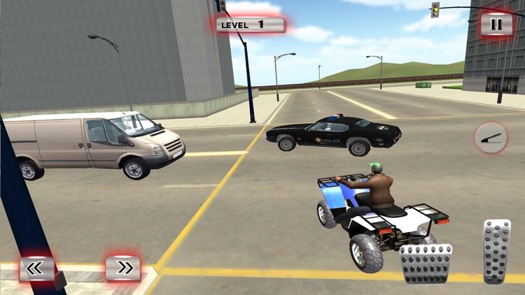 ATV Quad Bike Taxi: City Rider screenshot-3