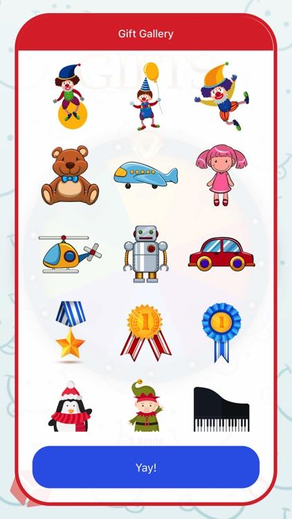 Fun Wheel of Gifts for Kids screenshot-4