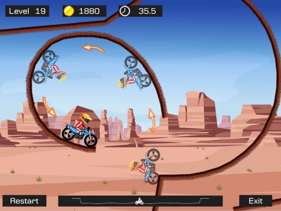 Screenshot #4 pour Top Bike Lite-Motorcycle Stunt