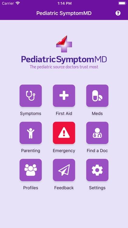Pediatric SymptomMD