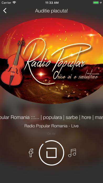 Radio Popular Romania screenshot two
