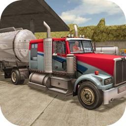 Truck Oil Climb Hill Mission