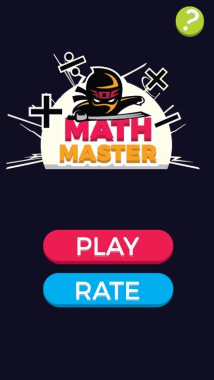 Math Ninja Master