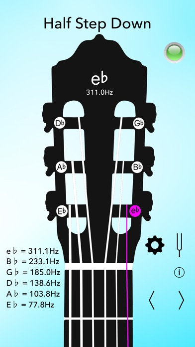 Classical Guitar Tuner Lite Screenshots