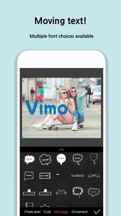 Vimo - Video Motion Sticker screenshot-4