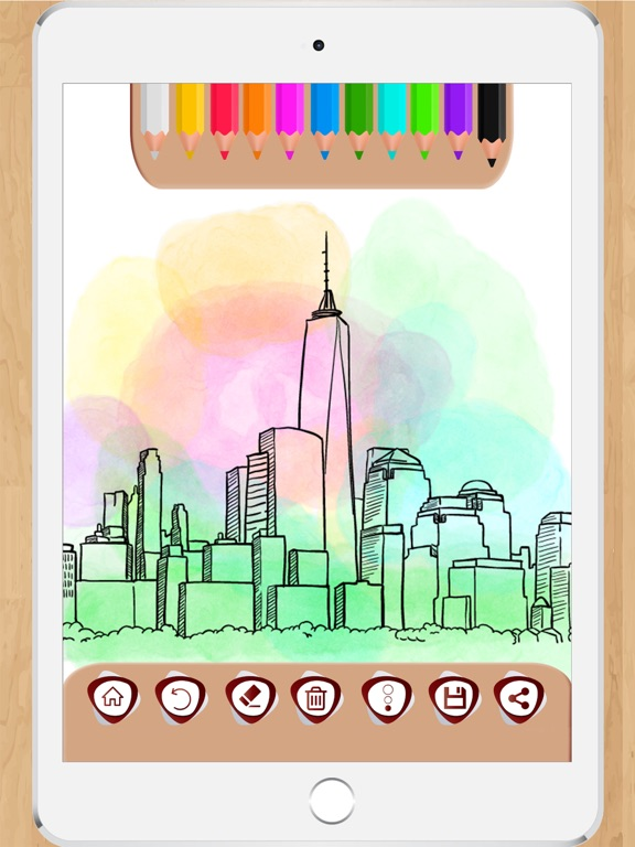 Draw and Color to make notes-ipad-3