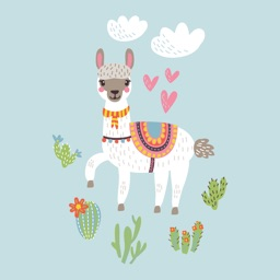 The Art Llama Stickers Pack