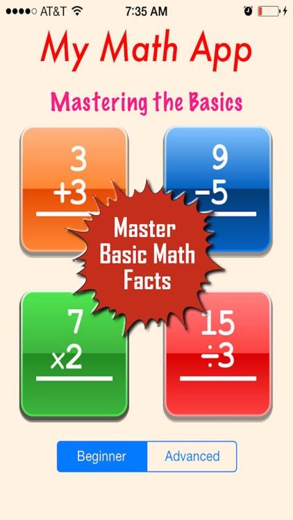 My Math App - Flashcards screenshot-0