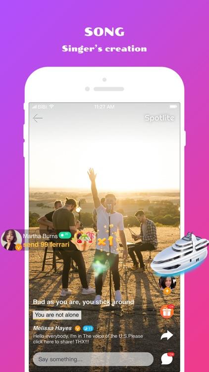 Spotlite - Sing Freely! screenshot-3