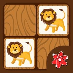 Animals Memory Game-Zoo Safari