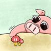 Blimps LLC - Growing Pig artwork