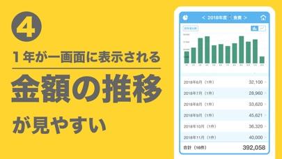 家計簿アプリ - 簡単!家計簿(かんたん!かけいぼ)スクリーンショット5