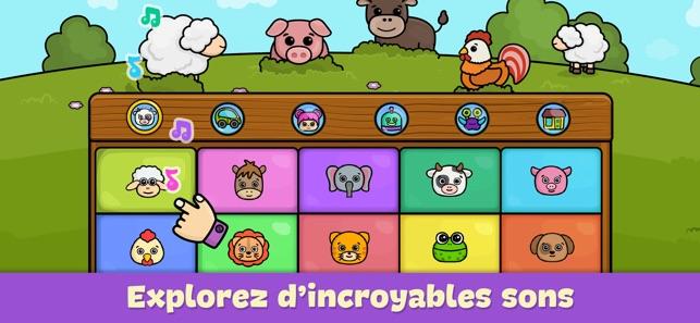 Coloriage La Ferme De Mathurin.Piano Jeux Pour Bebe Et Enfant Dans L App Store