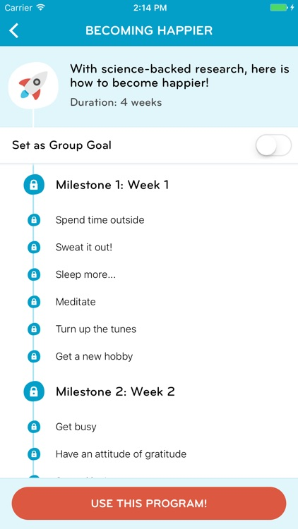 Push – Achieve any Goal!