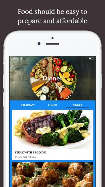Jamie's Cookbook Healthy Meals screenshot-3