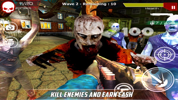 Zombie Dead War screenshot-3