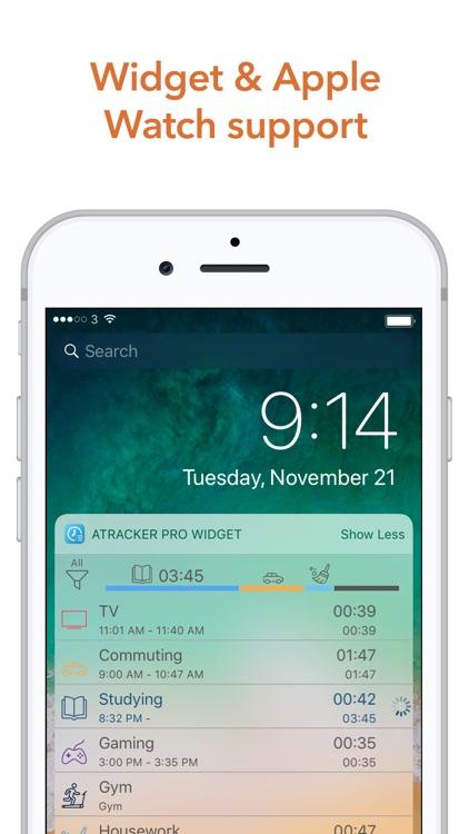 ATracker PRO Time Tracker screenshot-4