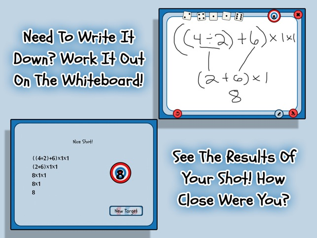 5 Dice Math Game on the App Store