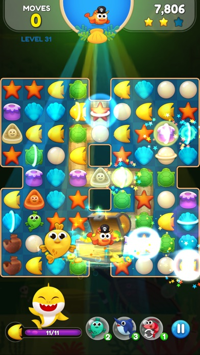 Baby Shark Match: Ocean Jam screenshot 4