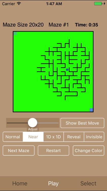 Maze Square (Lite) screenshot-3