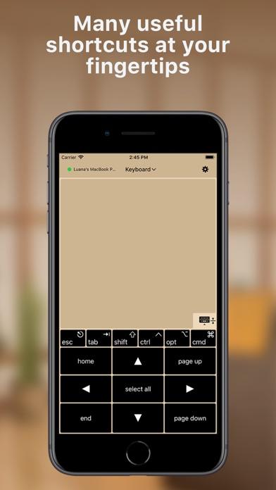 TouchPad screenshot two