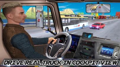In Truck Driving Highway Games screenshot 1